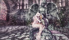 Lap of my Guardian (linpelazzi) Tags: stealthic signature maitreya babygirl daddy garden stone angel romantic lap truth letre bamse naberius pinkfuel catwa spell aitui deadwool eastudio luxrebel kc cynful izzies heartcore guardian