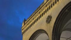 Feldherrnhalle (max.hau11) Tags: münchen munich nacht night odeonsplatz bauwerk construction architektur architecture licht light