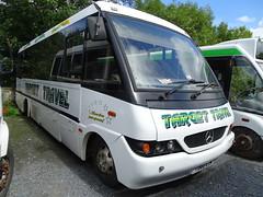 Target Travel T360EJM / WCR819 (Devon and cornwall Bus Spotter) Tags: target travel t360ejm wcr819 mercedes o814 acl ltd plymouth devon bus mini minibus