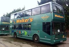 Walker's in Northwich (SemmyTrailer) Tags: hbv682 jbv529 scania elcb cityzen bus psv pcv walkers northwich holmeswood group east lancashire coachbuilders doubledecker