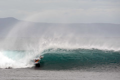 Shelter from the storm (brodrock) Tags: surf surfing surfer maui hawaii olowalu hurricane swell hurricanelane