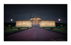 The Big House on the Hill (Deek Wilson) Tags: stormont bighouseonthehill northernireland goverment nightshoot afterdark belfast parliamentbuildings