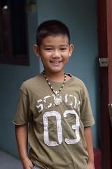 handsome boy (the foreign photographer - ฝรั่งถ่) Tags: aug12015nikon handsome boy child khlong lat phrao portraits bangkhen bangkok thailand nikon d3200