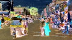India - Maharashtra - Aurangabad - Streetlife With Auto Rickshaw - 12bb (asienman) Tags: india maharashtra aurangabaf streetlife asienmanphotography asienmanphotoart asienmanpaintography