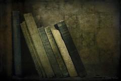 Books (shawn~white) Tags: aged book books dark distressed nostalgia stilllife texture vintage weathered ©shawnwhite