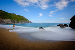 Olas (MigueR) Tags: españa asturias arnelles coaña fuji xt1 mar olas