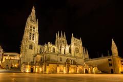 Catedral de Burgos (Juan Galián) Tags: nocturna night longexposure largaexposición urbana burgos building catedral gotico