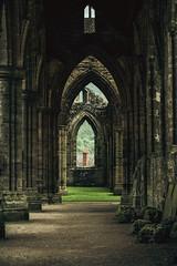 Tintern Abbey, Wales (hunblende) Tags: ruins abbey tintern tinternabbey monastery architecture arch uk wales
