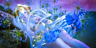 .feeling blue.