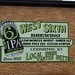 West 6th beer mural at Unlimited Spirts liquor store on Southland Drive Lexington, Kentucky