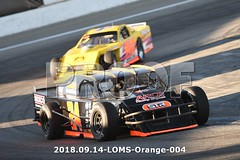 LOMS-Orange-004 (PacificFreelanceMotorsports) Tags: loms speedway racing modifieds lucasoil
