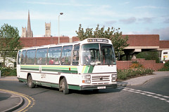 54 - XLB 821 (Solenteer) Tags: lincolncitytransport 54 xlb821 aec reliance plaxton supremeiv lincoln epm148v