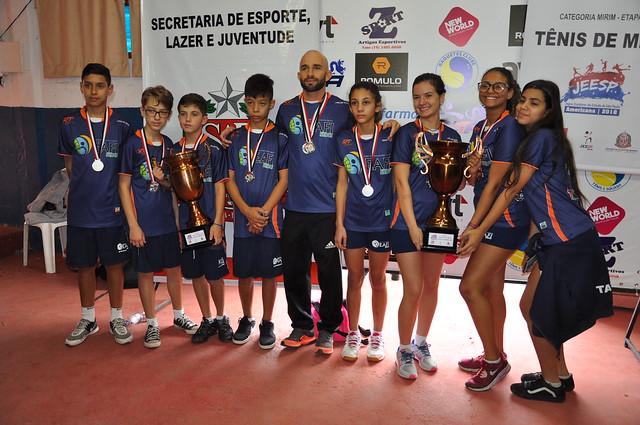 Tênis de mesa - Premiações - Susy Coutinho