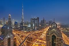 Dubai Downtown (Joao Eduardo Figueiredo) Tags: dubai downtown burj khalifa burjkhalifa shangrila hotel skyline united arab emirates unitedarabemirates uae nikon nikond850 joaofigueiredo joaoeduardofigueiredo d850 sunset buildings skyscrapers architecture