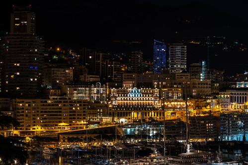 Monaco during night - 2