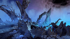 Yggdrasil (MG_MonkeyGames) Tags: godofwar ps4 playstation game screenshot videogame adventure mythic myth norse blue ice cold frozen mystical scenery surreal branches yggdrasil