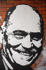 Vater der Brings im Bahnhof Ehrenfeld (guentersimages) Tags: köln kunst graffitikunst graffiti streetart wandmalerei ehrenfeld bahnhof muralpainting painting malerei