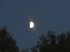 The moon (creed_400) Tags: belmont michigan august summer moon west