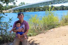 Father and Son (MPaderna7) Tags: redding sundialbridge vacation burneyfalls