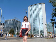 Milano - Piazza Duca D'Aosta (Alessia Cross) Tags: crossdresser tgirl transgender transvestite travestito