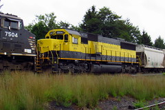 NYSW 3804 (Hank Rogers) Tags: pa pennsylvania avoca rr rail railroad train nysw 3804 nysw3804 unit engine power susquehanna newyork western sunburyline transportation industry