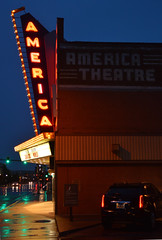 America Theatre (radargeek) Tags: casper wy wyoming 2018 july downtown america theatre theater sign neon
