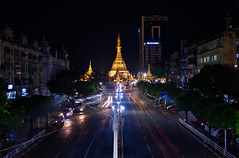 Downtown Yangon (Cho Shane) Tags: yangon myanmar downtown night nightlights sule sulepagoda asia amazing amateur amazingcomposition amazingbeauty amazingview amazingshot amazingsight colorful composition dslr nikond810 nikkor2470 stunning stunningbeauty stunningview stunningshot stunningmoment scenery scenic sceneryphotography sceneryphoto scenerylove sceneryporn cityscape colors outdoor outdoors nightphoto