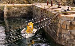 Île de Groix: Port Lay, under the ropes (Henk Binnendijk) Tags: îledegroix groix groixisland morbihan bretagne brittany breizh portlay boats fisherman fishermen port harbour haven fishing france frankrijk ropes