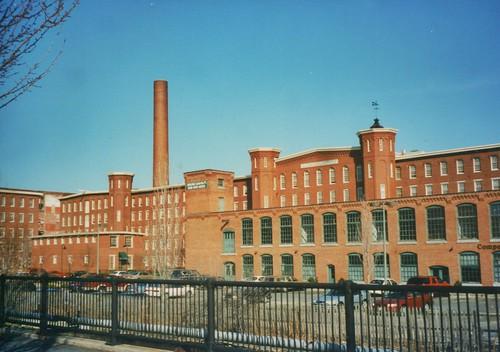 Lowell Massachusetts - Boott Cotton Mills Museum- Massachusetts Mills Apartments