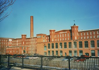Lowell Massachusetts - Boott Cotton Mills Museum- Massachusetts Mills Apartments