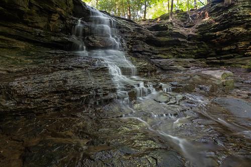 Honey Run Waterfall, Ohio