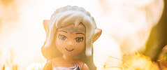 #ElvesDay 10 - Naida (Reiterlied) Tags: elves lego legography minidoll naida reiterlied seunset stuckinplastic toy