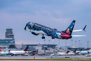 West Jet's Mickey Mouse Livery