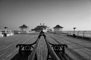 Along the pier at Cromer