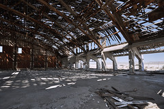 Air Base (joeqc) Tags: nevada nv nye county canon t3i efs1855f3556isii captureone abandoned forgotten hangar tonopah