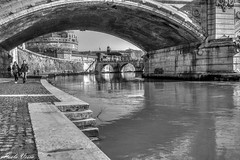 Punti di vista (Pablos55) Tags: ponte brigge fiume river acqua water argine bank