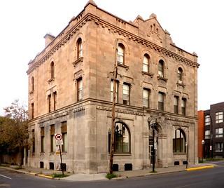 Montréal, 17 août 2018. Coin Nord-Ouest des rues de Condé et Grand Trunk, Pointe-Saint-Charles.