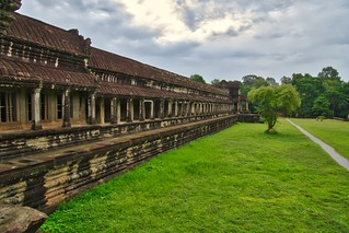 Southern Gallery of Angkor Wat near Siem Reap, Cambodia