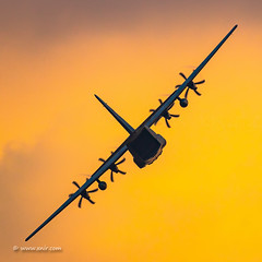 Always the sun (xnir) Tags: c130 c130j hercules superhecules sunset israel iaf israelairforce idf aviation pilot airplane