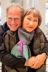 Scott Jordan and Amy Tan (Thomas Hawk) Tags: america amytan california sf sanfrancisco scottjordan scottevest usa unitedstates unitedstatesofamerica westinstfrancis fav10 fav25 fav50
