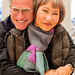 Scott Jordan and Amy Tan