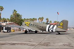 Commemorative Air Force Douglas C-53D (DC-3) N45366 (jbp274) Tags: rir krir airport airplanes flabob douglas dc3 vintage dakota c53 skytrooper commemorativeairforce warbird