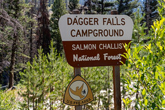 Dagger Falls campground sign - Salmon Challis National Forest (m01229) Tags: a7iii fullframe sonymirrorless sony