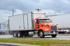 Deka Mack CXU613 Straight Truck (Trucks, Buses, & Trains by granitefan713) Tags: mack macktruck bigtruck heavyduty pinnacle mackpinnacle mackcxu613 cxu613 straighttruck boxtruck vantruck tandem twinscrew deka
