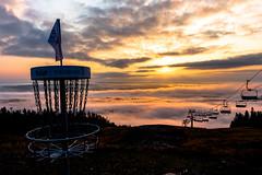 Tahkonrinteet syyskuussa 2018 (VisitLakeland) Tags: finland lakeland tahko aamu auringonnousu frisbeegolf nature sunrise tuolihissi vastavalo