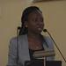 Sore, Head IITA Capacity Development Office giving her presentation