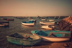 Boats... (hobbit68) Tags: himmel sky boote fujifilm xt2 boats old alt andalucia andalusien espanol espagne espana sonnenschein sonne sunset sommer spanien sonnenuntergang strand spain wasser water holiday summer urlaub beach playa atlantik hafen port puerto stein felsen