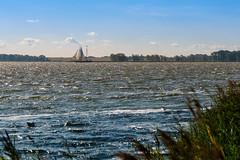 Ostsee  12 (berndtolksdorf1) Tags: deutschland mecklenburgvorpommern zingst ostsee bodden fischland dars wasser segelboot schiff himmel sky outdoor