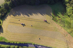 Harvest From Above (Jamesylittle) Tags: drone dji ariel harvest hay silage bailing tractors