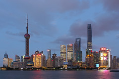New Orient (rogelio g arcangel) Tags: china shanghai shanghaipudong pudong asia travel asiatravel bluehour shanghaicbd autumn2015 canon canonphotography cityscape architecture asiancities